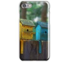 Birdhouse Condos iPhone Case/Skin