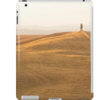 tuscany fields near siena iPad Case/Skin
