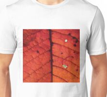 Abstract Autumn Leaf Unisex T-Shirt