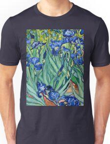 Vincent Van Gogh - Irises, 1889  Unisex T-Shirt