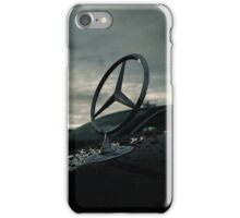 Mercedes Logo with Cool Lighting iPhone Case/Skin