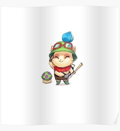 League of Legends Teemo Poster
