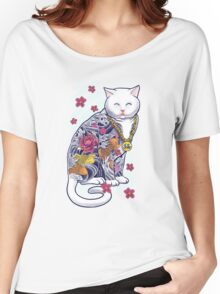 Mob Cat  Women's Relaxed Fit T-Shirt