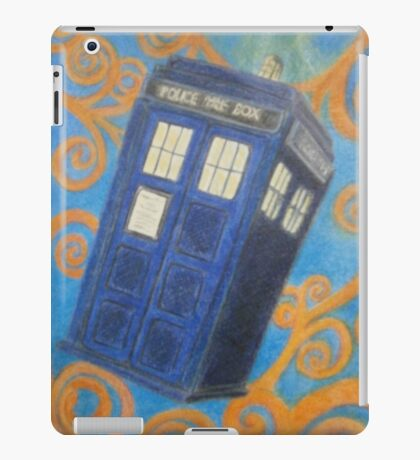 The Flying Blue Box iPad Case/Skin