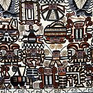 Incan Weave by phil decocco