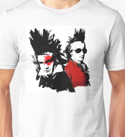 Beethoven Mozart Punk Unisex T-Shirt