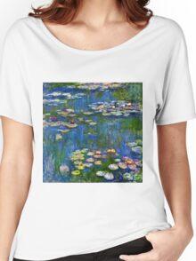 Claude Monet - Water Lilies (1916)  Women's Relaxed Fit T-Shirt