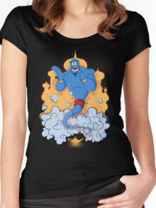 Great Genie Women's Fitted Scoop T-Shirt