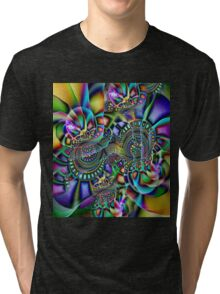 Painted Pieces Tri-blend T-Shirt