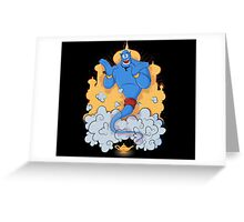 Great Genie Greeting Card