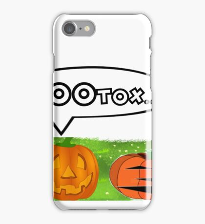 BOOTOX - JACK-O-LANTERN - HALLOWEEN iPhone Case/Skin