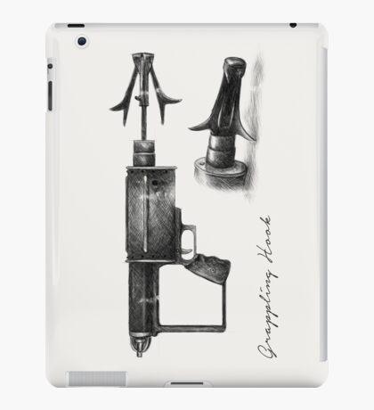 Grappling Hook Schematics  iPad Case/Skin
