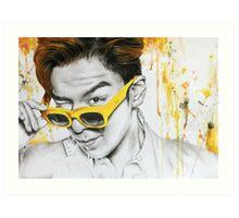 Yellow Shades Art Print
