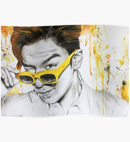 Yellow Shades Poster