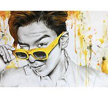 Yellow Shades Photographic Print