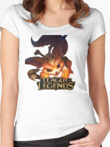 Gnar - League of Legends Women's Fitted Scoop T-Shirt
