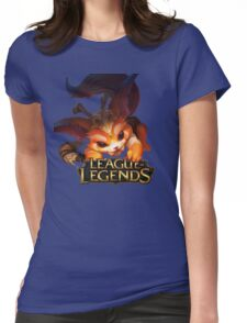 Gnar - League of Legends Womens Fitted T-Shirt