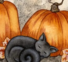 Pumpkin Nap Sticker