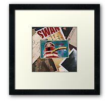 Greetings From Storybrooke Post Card Framed Print