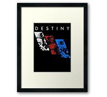 Destiny Fireteam Framed Print