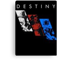 Destiny Fireteam Canvas Print
