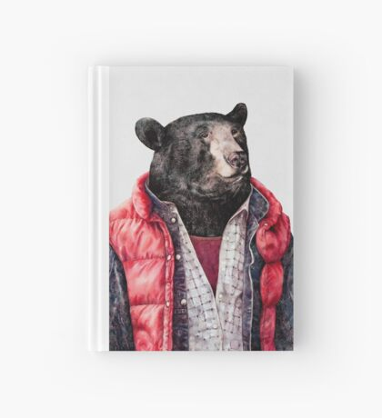 Black Bear Hardcover Journal