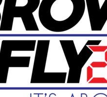 Brown McFly 2016 Sticker
