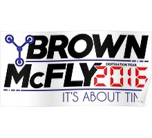 Brown McFly 2016 Poster