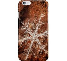 Snowflake On Mars iPhone Case/Skin