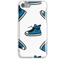 Sneakers seamless pattern, hand drawing iPhone Case/Skin