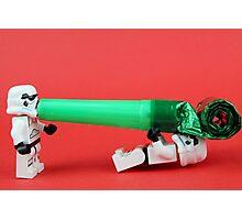 Lego Storm trooper birthday surprise Photographic Print