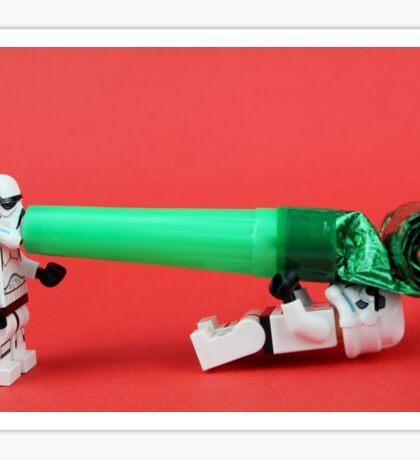 Lego Storm trooper birthday surprise Sticker