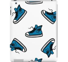 Sneakers seamless pattern, hand drawing iPad Case/Skin