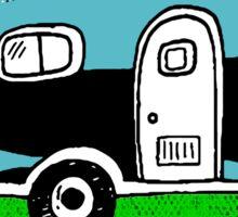 CAMPING HAPPY CAMPER CALIFORNIA TRAILER RV RECREATIONAL VEHICLE 3 Sticker
