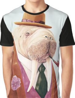 Worldly Walrus Graphic T-Shirt