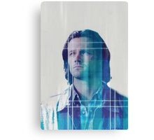 Sam Winchester Plaid Canvas Print