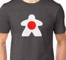 Japanese Meeple Design Unisex T-Shirt
