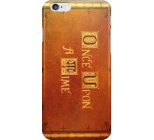 Once Upon A Time - Colorful Book Cover iPhone Case/Skin