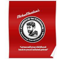 Michael Davidson's Comics 'n Things - Red Tornado edition Poster
