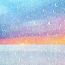 Rain Drops Beach by Edward Fielding