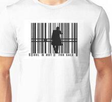 Barcode Businessman Unisex T-Shirt