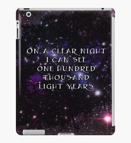 On A Clear Night iPad Case/Skin