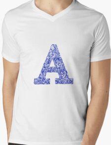 Margins A Mens V-Neck T-Shirt