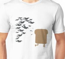 Running Toast Unisex T-Shirt