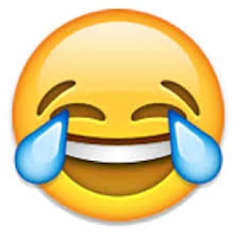 laughing emoji tote bags redbubble