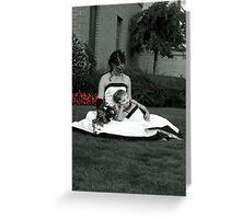 MATCHING GOWNS Greeting Card
