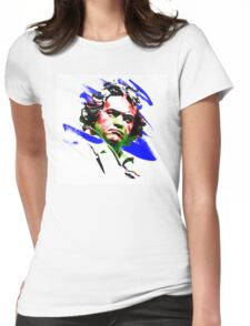 Ludwig van Beethoven Womens Fitted T-Shirt