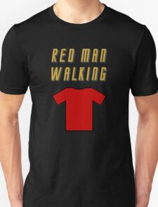 Red Man Walking ( Clothing & Stickers)  Unisex T-Shirt