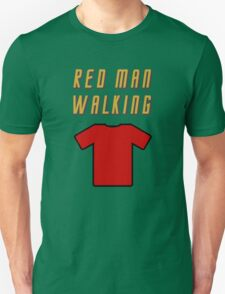 Red Man Walking ( Clothing & Stickers)  T-Shirt