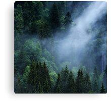 The Cloud Veil... Canvas Print